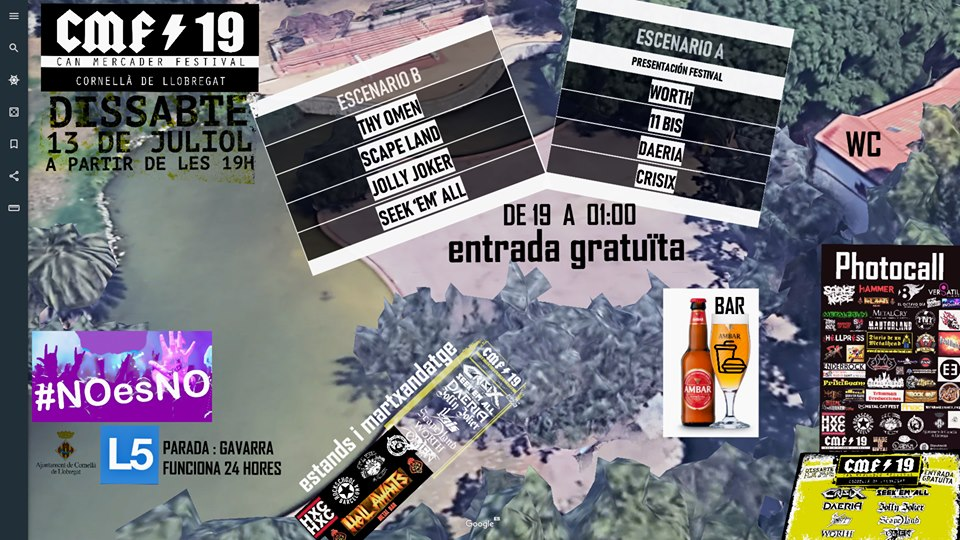 La Previa: Can Mercader Festival - CMF2019 - Manners Of Hate